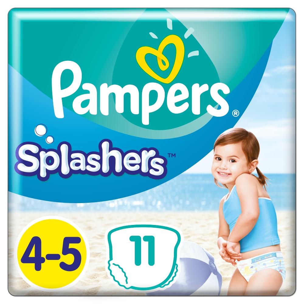 PAMPERS Splashers vel.4-5 Plenkové kalhotky do vody 11 ks