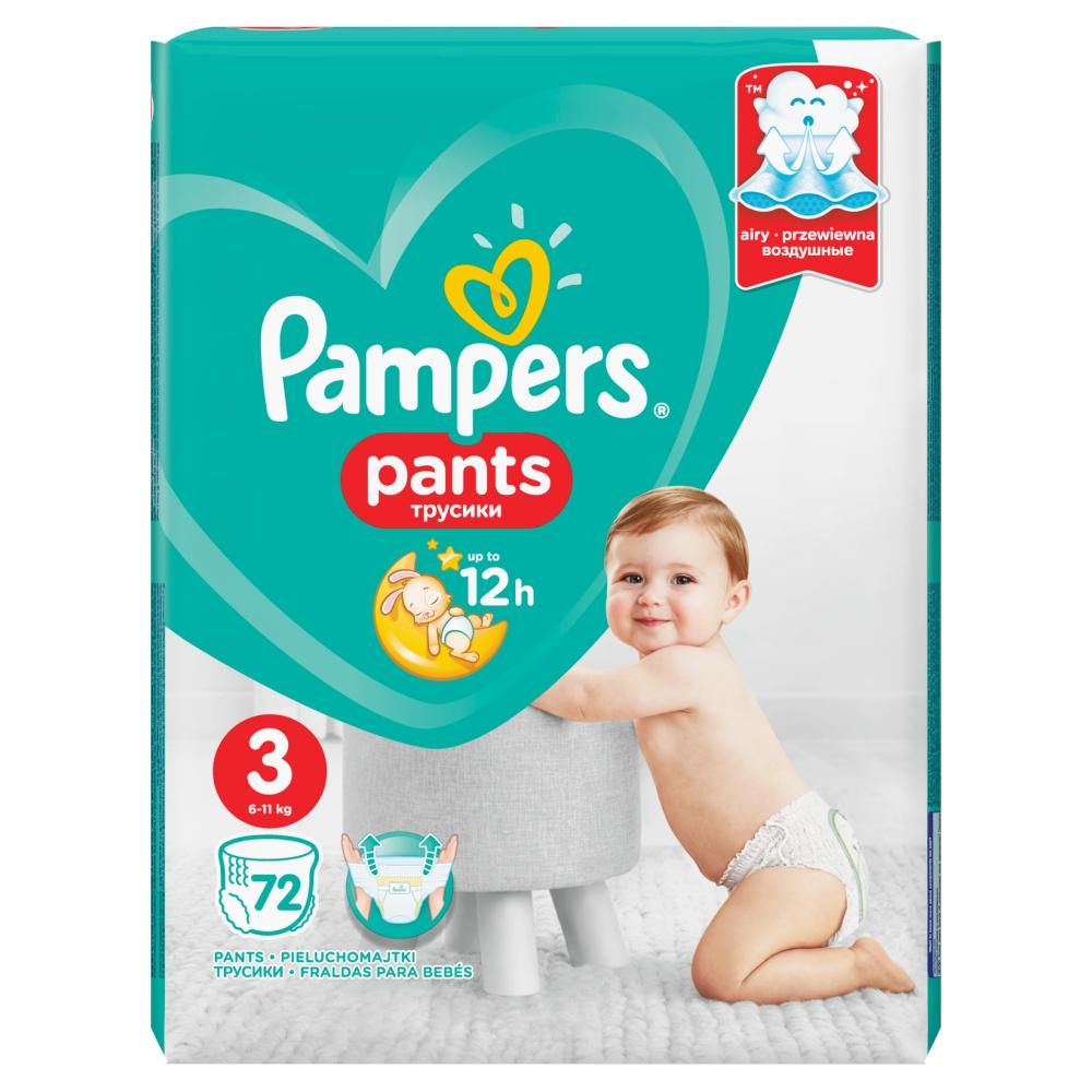 PAMPERS Pants GP S3 Kalhotkové pleny 72 ks