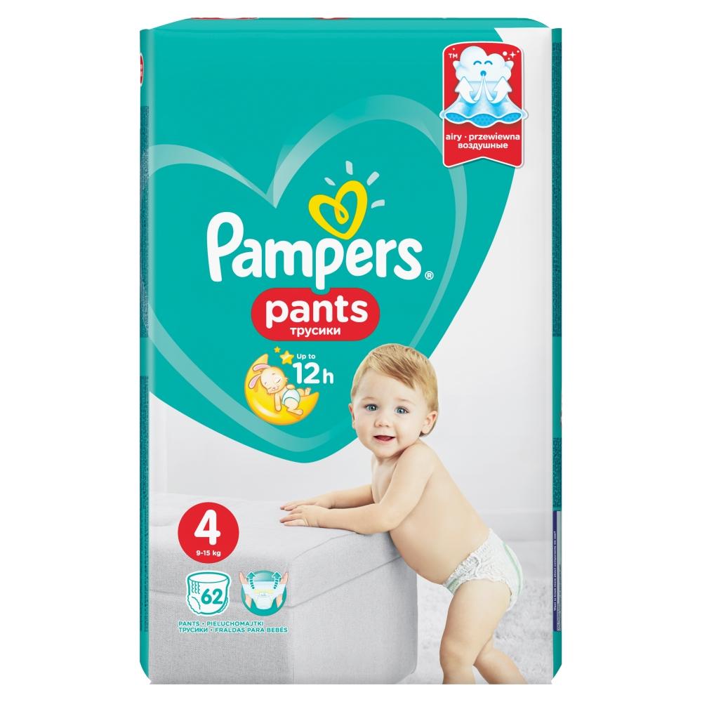 PAMPERS Pants GP S4 Kalhotkové pleny 62 ks