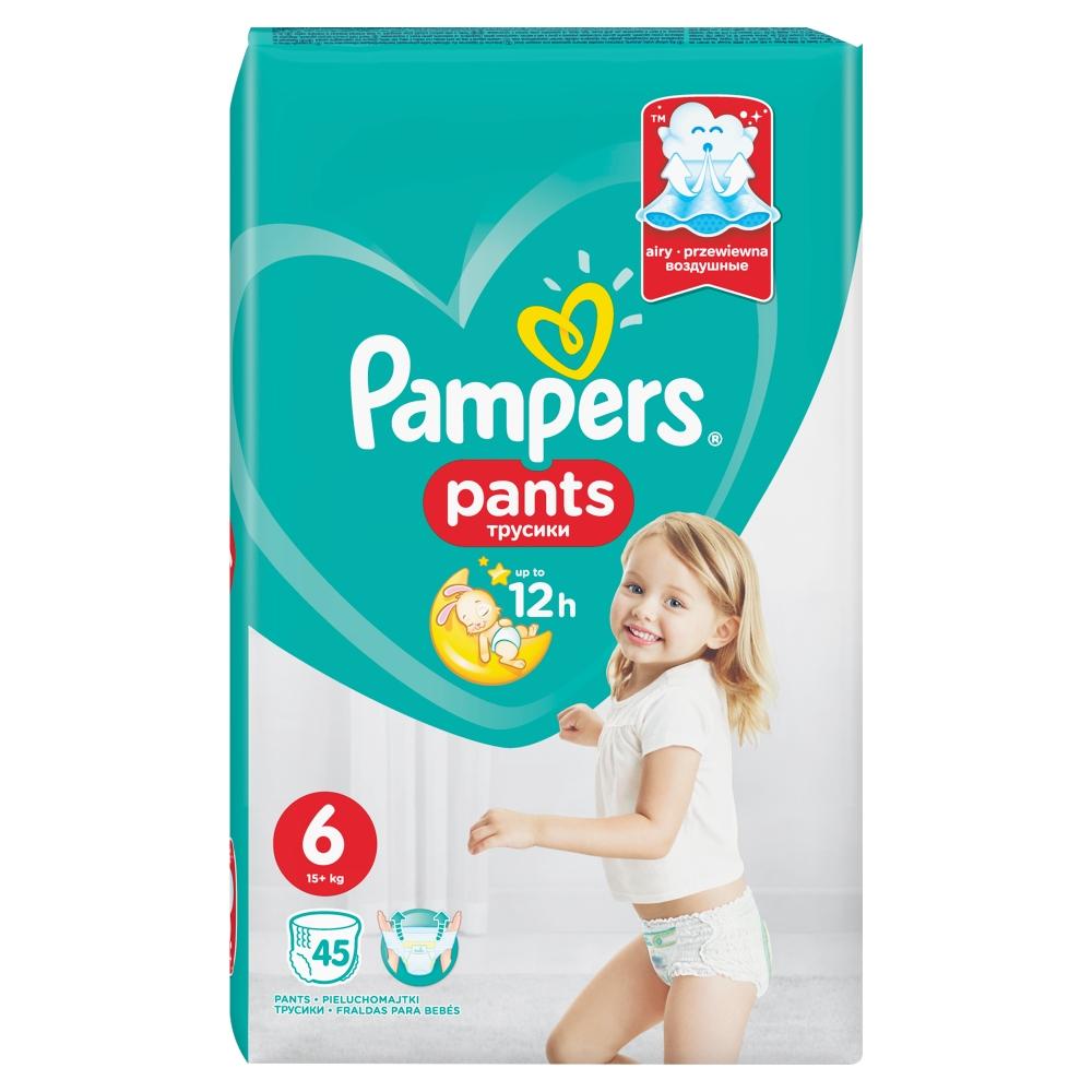 PAMPERS Pants GP S6 Kalhotkové pleny 45 ks