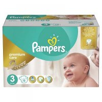 PAMPERS Premium Care 3 MIDI 4-9 kg 120 kusů