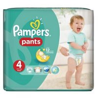PAMPERS Pants 4 MAXI 9-14 kg 24 kusů