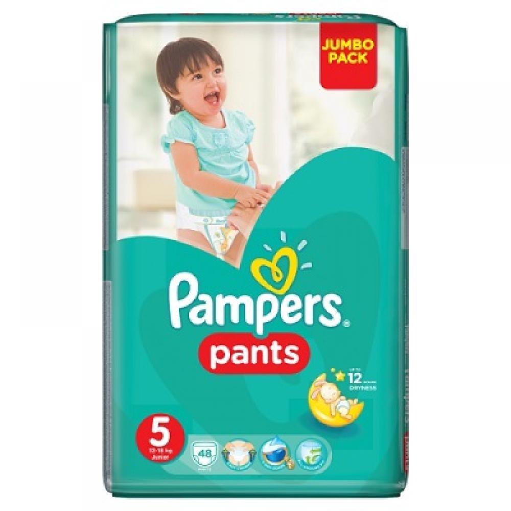 PAMPERS Pants 5 JUNIOR 12-18 kg 48 kusů