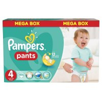 PAMPERS Pants 4 MAXI 9-14 kg 104 kusů