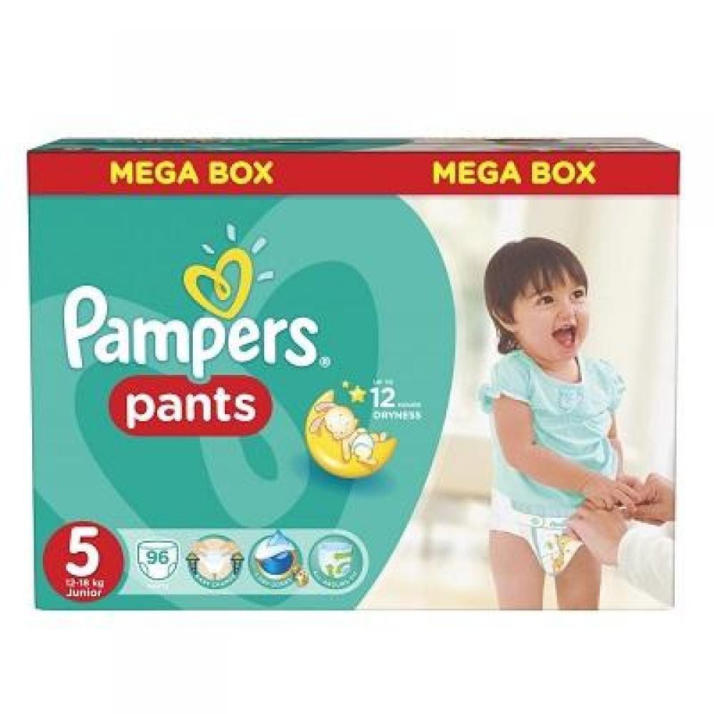 PAMPERS Pants 5 JUNIOR 12-18 kg 96 kusů
