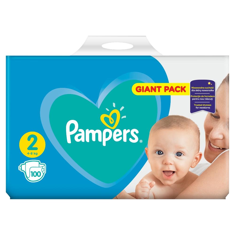Pampers New baby 2 mini 3 - 6 kg 100 kusů
