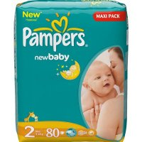 PAMPERS New baby 2 mini 3-6 kg 80 kusů