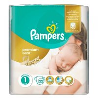PAMPERS Premium Care 1 NEWBORN 2-5 kg 22 kusů