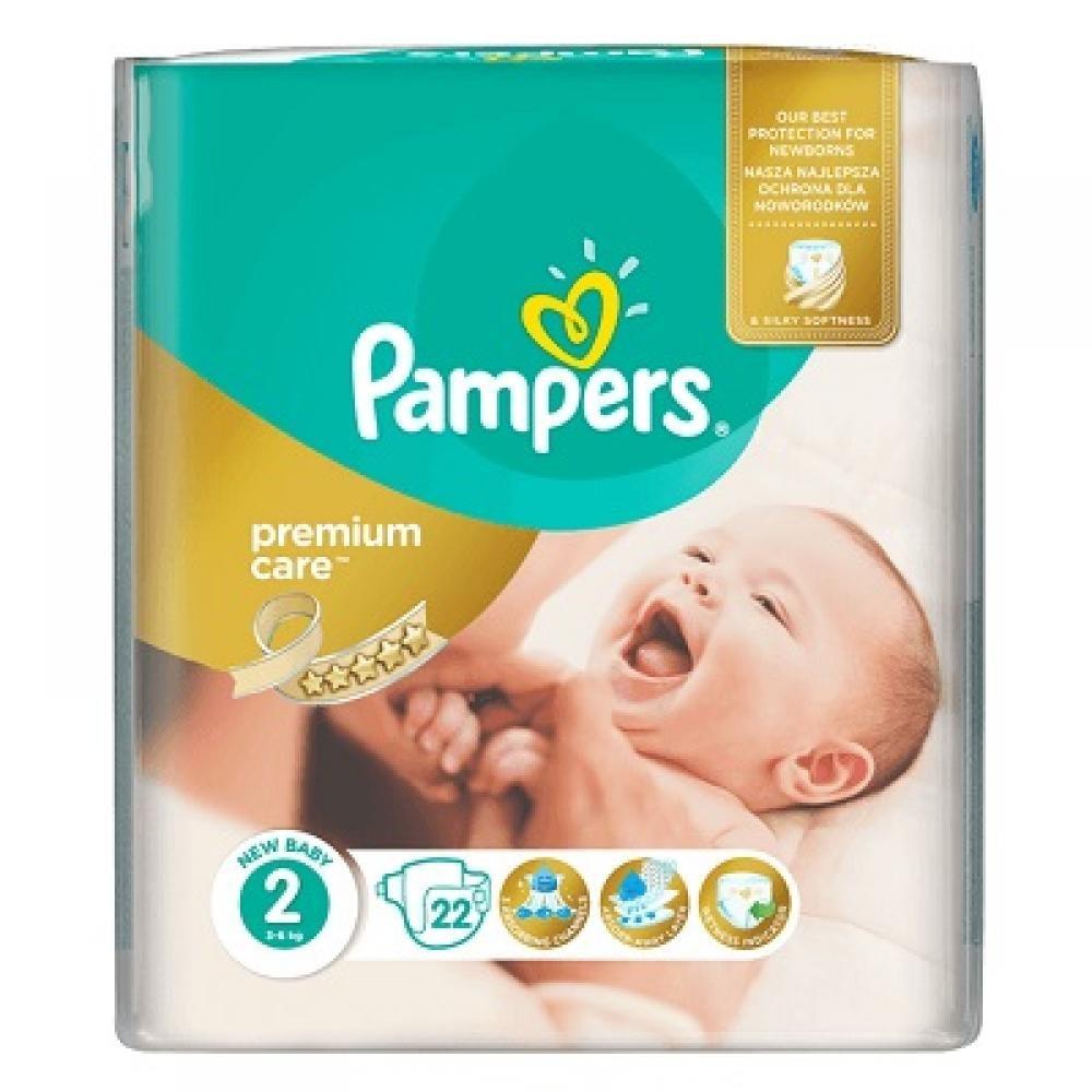 PAMPERS Premium Care 2 MINI 22 kusů