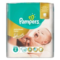PAMPERS Premium Care 2 MINI 3-6 kg 22 kusů