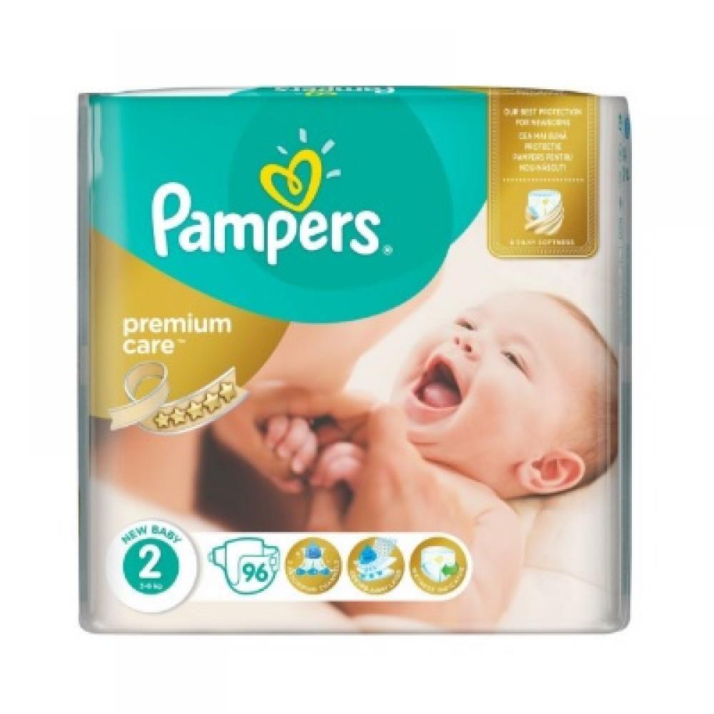 PAMPERS Premium Care 2 MINI 3-6 kg 96 kusů