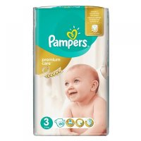 PAMPERS Premium Care 3 MIDI 4-9 kg 60 kusů