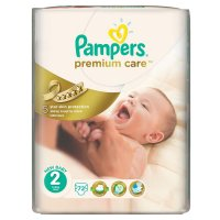 PAMPERS Premium Care 2 mini 3-6 kg 72 kusů