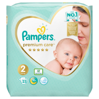PAMPERS Premium Care Pack S2 MINI 4-8kg 23 ks