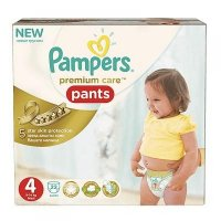 PAMPERS Premium Care Pants 4 MAXI 7-14 kg 22 kusů