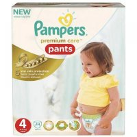 PAMPERS Premium Care pants 4 maxi 9-14 kg 44 kusů