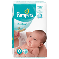 PAMPERS ProCare Plenky S0 38 ks