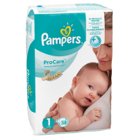 PAMPERS ProCare Plenky S1 38 ks