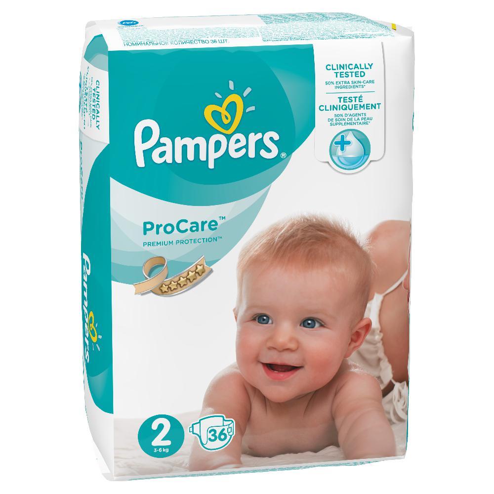 PAMPERS ProCare Plenky S2 36 ks