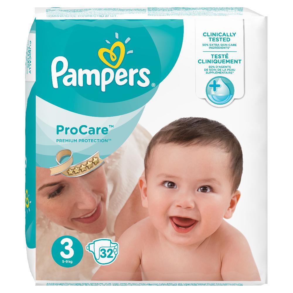 PAMPERS ProCare Plenky S3 32 ks