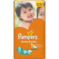 PAMPERS Sleep&Play 5 junior 11-18 kg 58 kusů