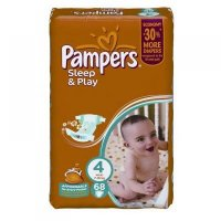 PAMPERS Sleep&Play 4 maxi 7-14 kg 68 kusů