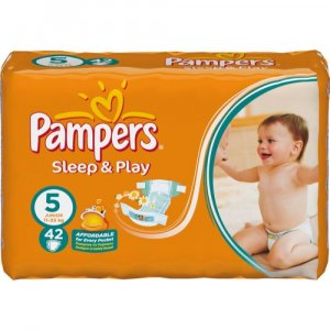 PAMPERS Sleep&Play 5 junior 11-25 kg 42 kusů