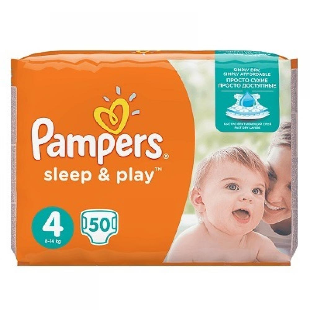 Pampers Sleep&play maxi 7-14kg 50ks