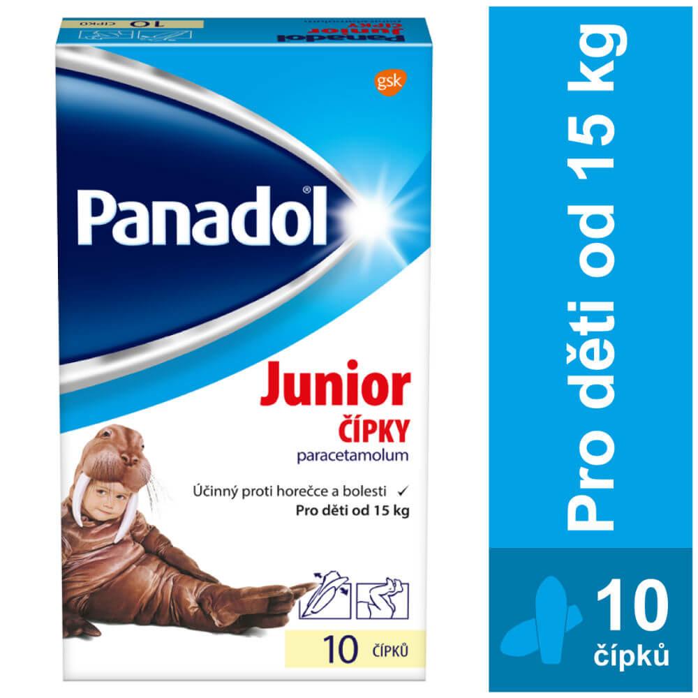PANADOL Junior rektální čípky SUP 10x250 mg