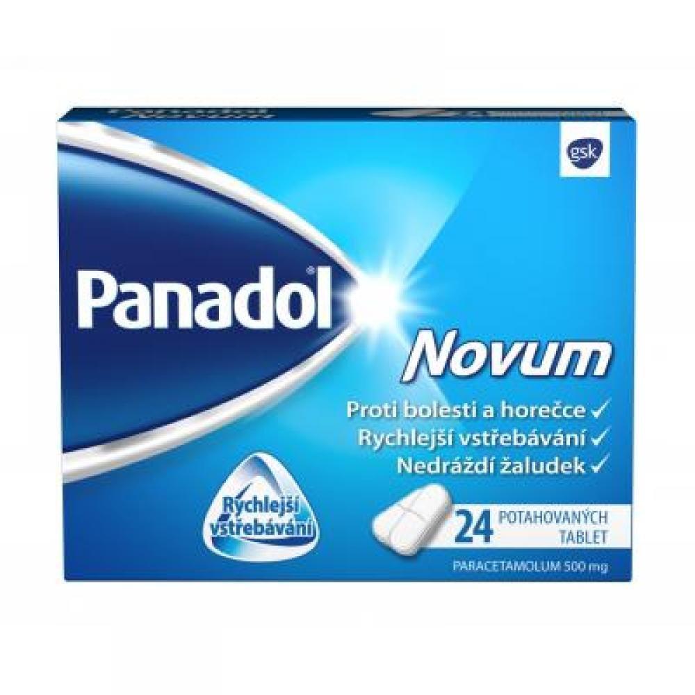 PANADOL Novum 500 mg x 24 potahovaných tablet
