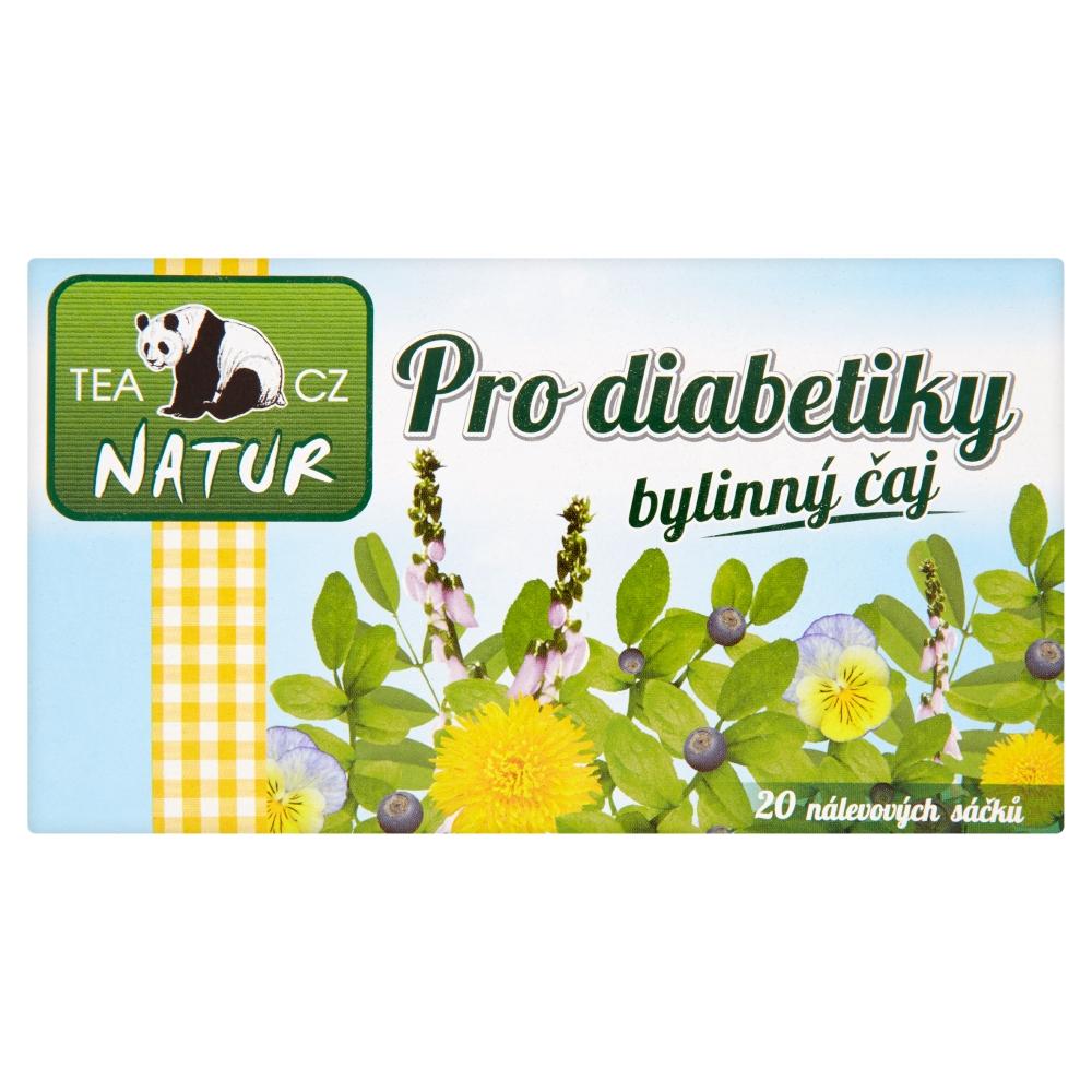 Panda Natur Pro diabetiky bylinný čaj 20 x 15 g