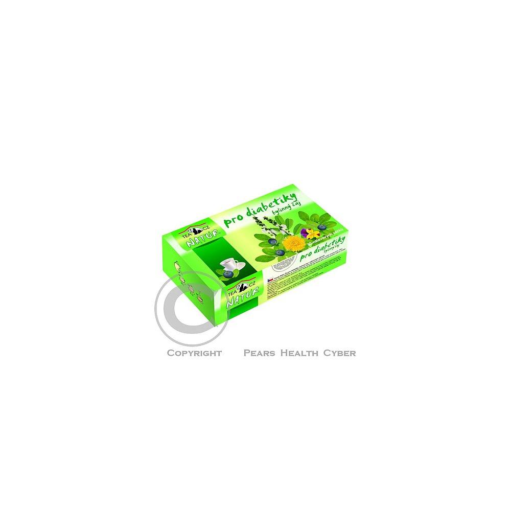 PANDA NATUR Bylinný čaj pro diabetiky 20x1,5g n