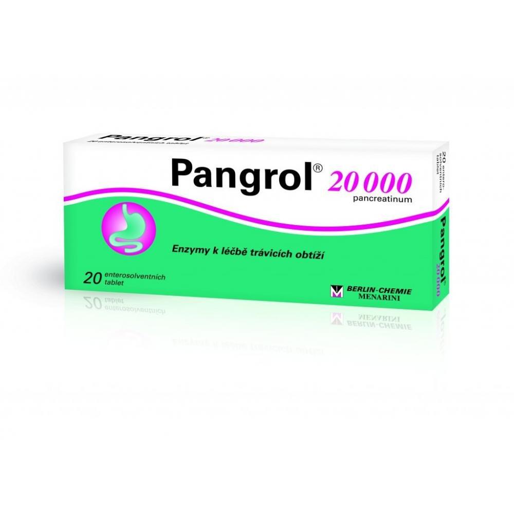 PANGROL 20000 20 II Tablety