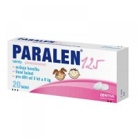 PARALEN 125  20X125MG Tablety