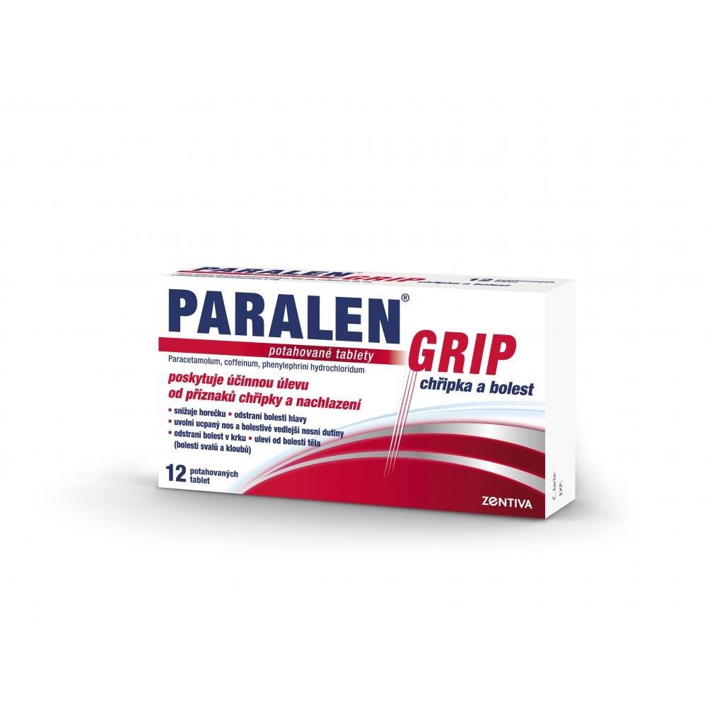 PARALEN GRIP CHŘIPKA A BOLEST 12 I Potahované tablety