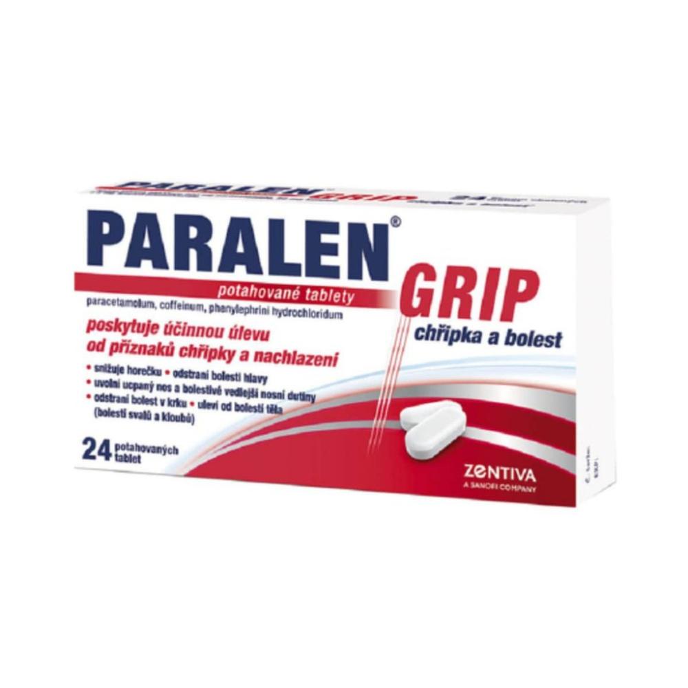 PARALEN GRIP CHŘIPKA A BOLEST 24 l Potahované tablety