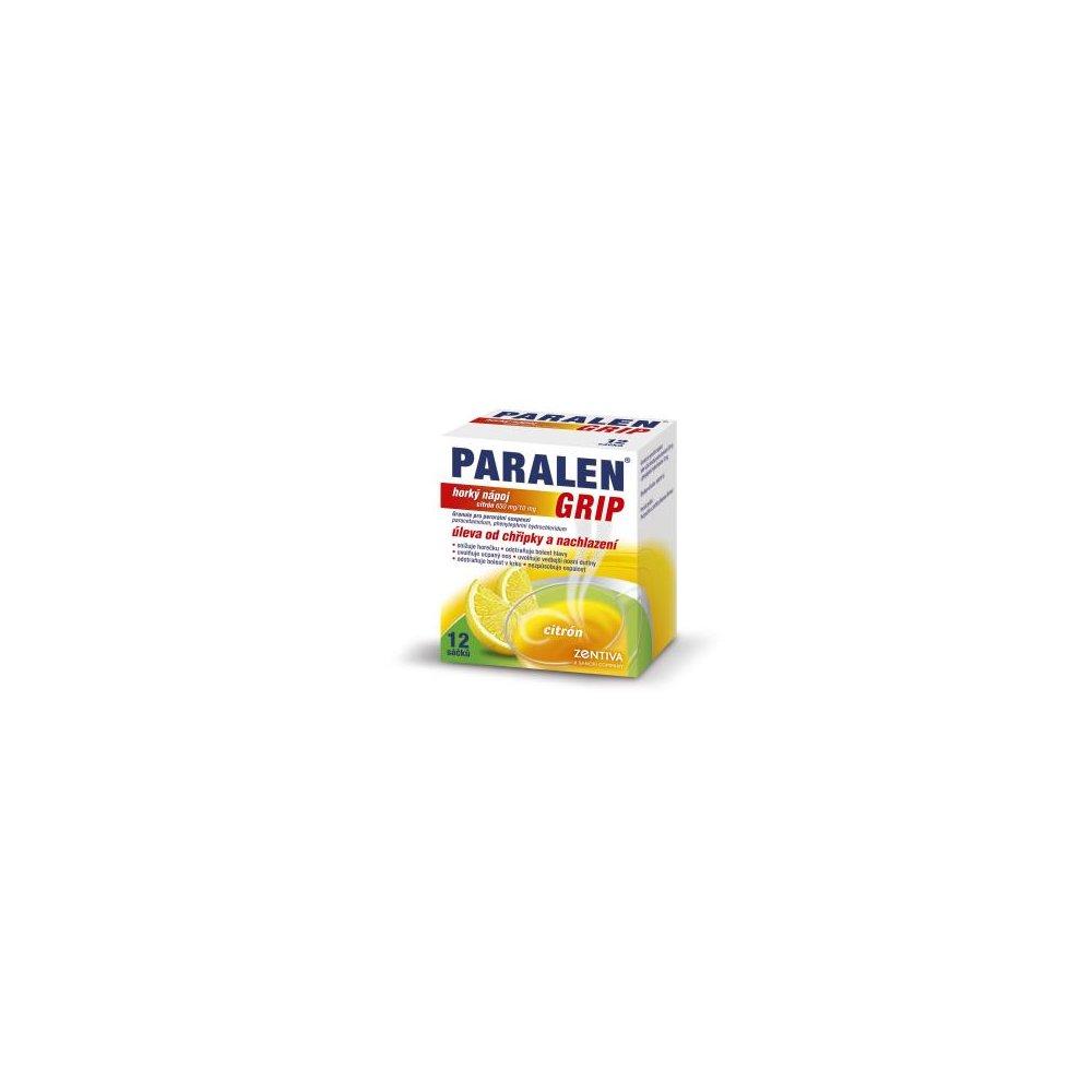 PARALEN® GRIP horký nápoj 12 Granule pro suspenzi