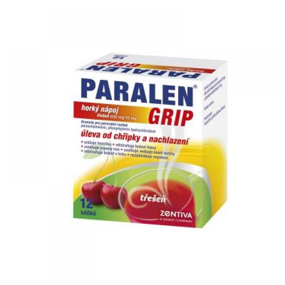 PARALEN GRIP horký nápoj 12 Granule pro roztok
