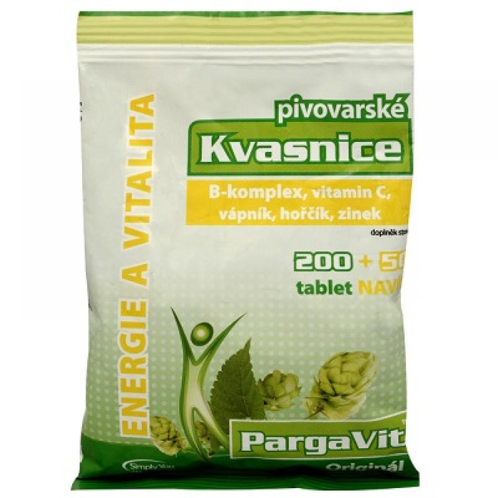 PargaVit Pivovarské kvasnice 250 tablet