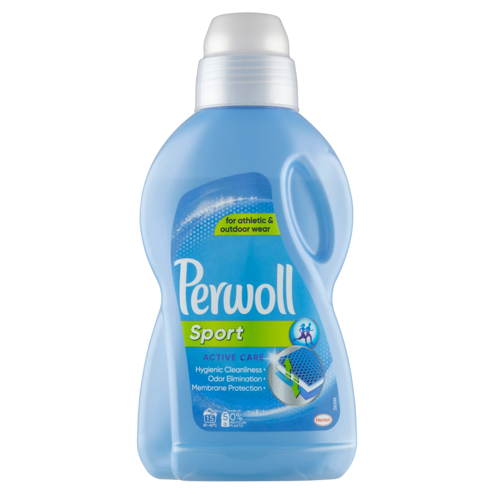 PERWOLL Sport Active Care Prací gel 15 praní 900 ml