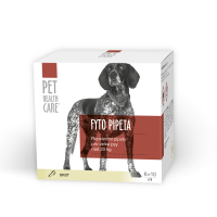 PET HEALTH CARE FYTO pipeta pro psy od 20 kg 6x10 ml