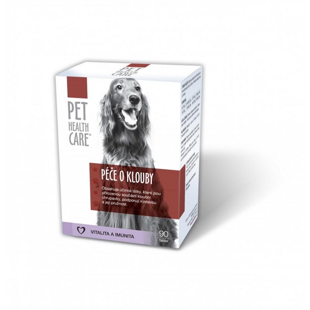 PET HEALTH CARE Péče o klouby pro psy 90 tablet
