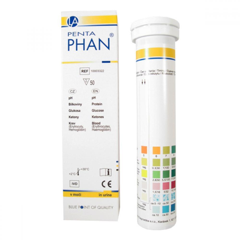 PHAN Penta Diagnostické proužky 50 kusů