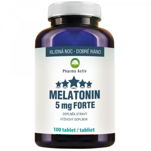 PHARMA ACTIV Melatonin Forte 5mg 100 tablet