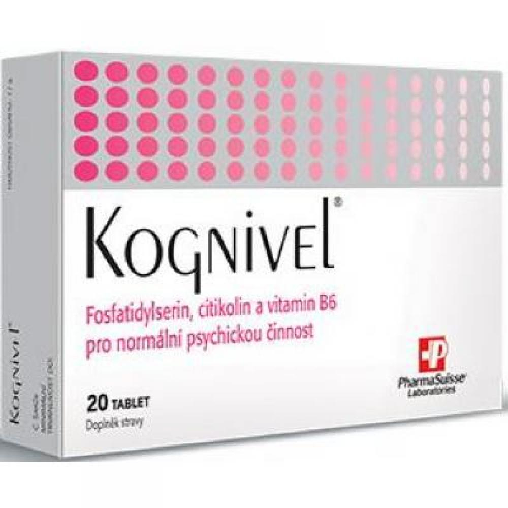 PHARMASUISSE Kognivel 20 tablet