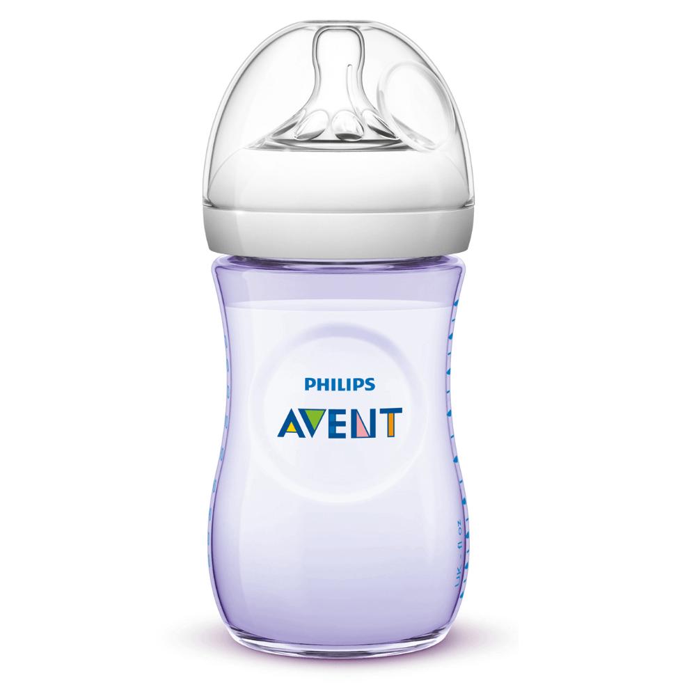 PHILIPS AVENT Láhev Natural 260 ml, Fialová