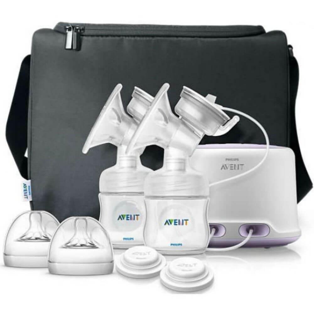 PHILIPS AVENT Odsávačka mateřského mléka elektronická Natural DUO