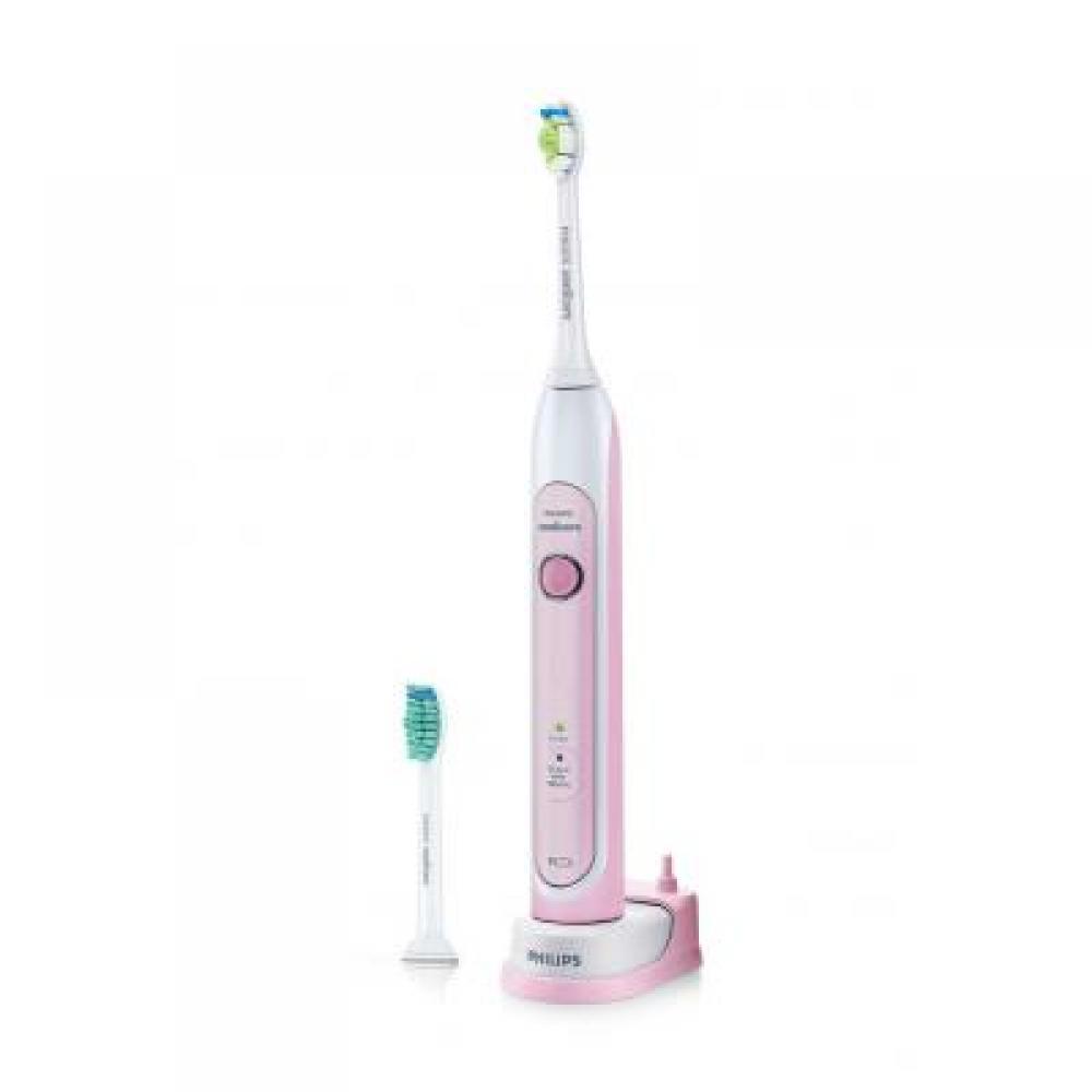 PHILIPS SONICARE HealthyWhite Pink HX6762/43 Sonický elektrický zubní kartáček