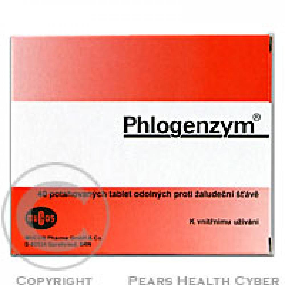PHLOGENZYM 40 Potahované tablety