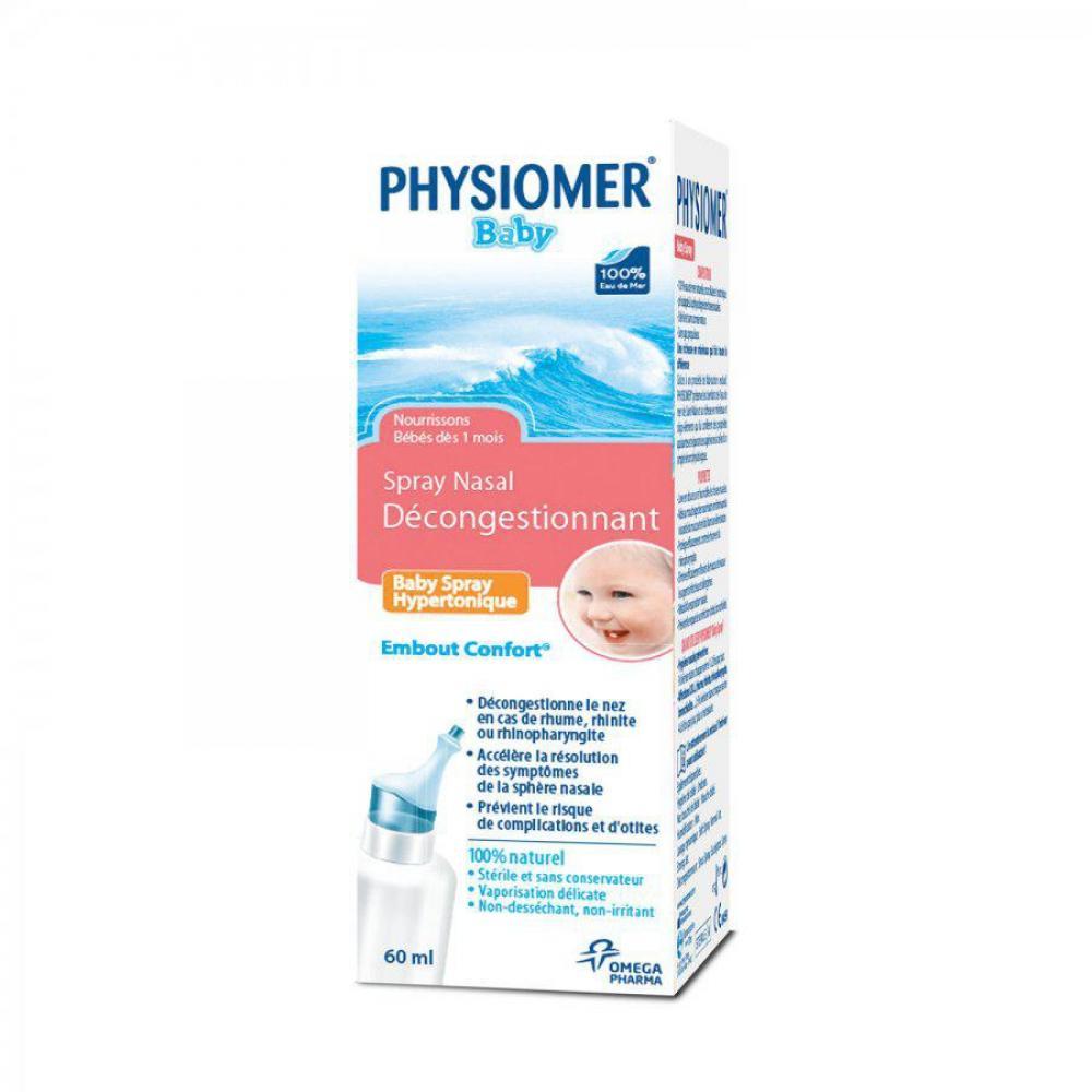 Physiomer Baby hypertonický nosní sprej 60 ml